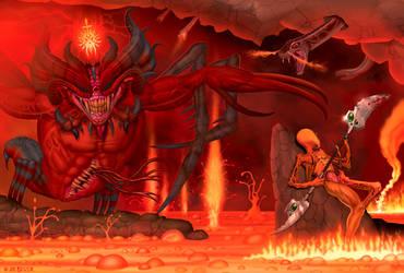 Killing Demonica by joebotzer