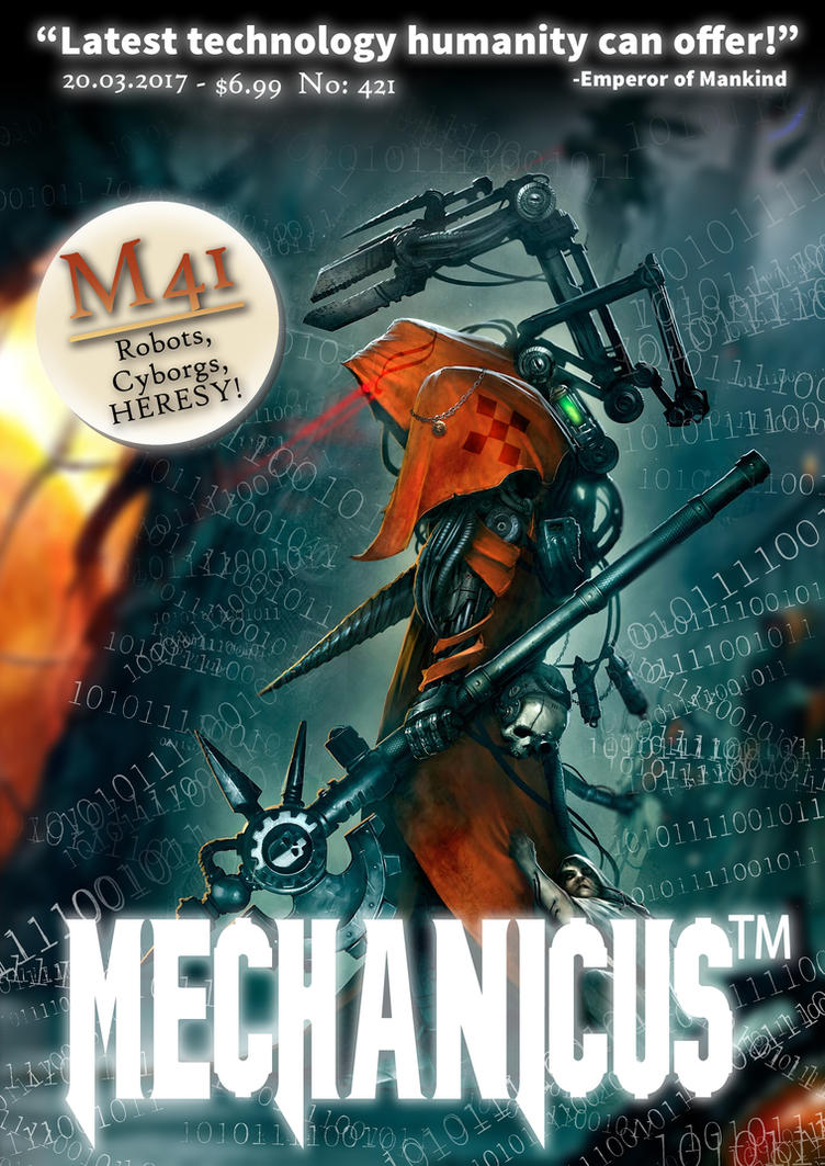 Mechanicus Magazine by WarbringerVI