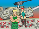 Cammy and Guile