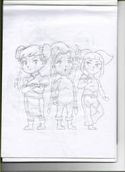 Chibi figthers