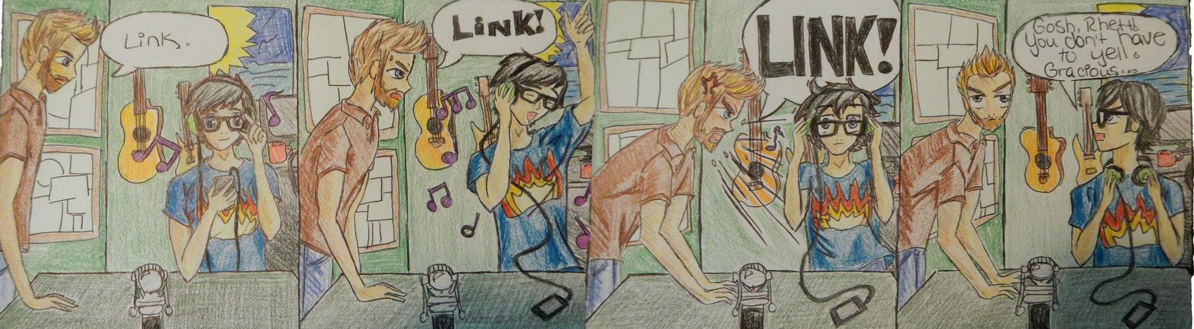 Rhett and Link Comic by LoverOfTheLink