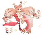 [ADOPT | CLOSED] Mermaid by ohilin