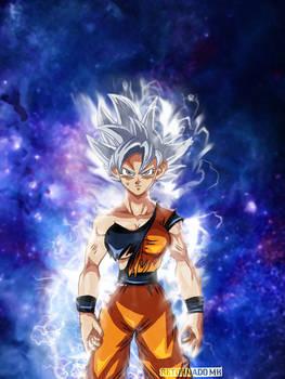 Goku Female Ultra Instinto Perfecto FULL COLOR/