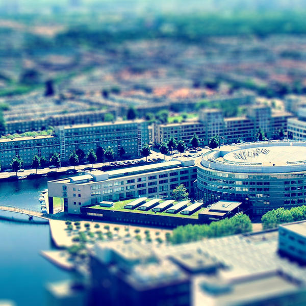 Tilt Shift The Hague 2 by marjol3in1977