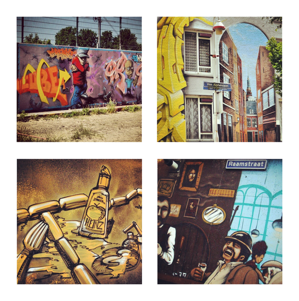 Graffiti in The Hague by marjol3in1977