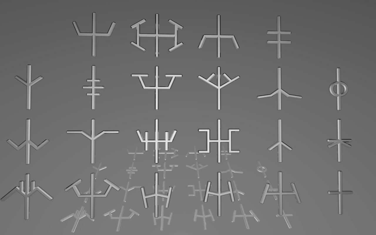 CLAYMORE | Claymore symbols