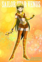 Sailor Star Venus by maryrenialt
