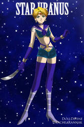 Sailor Star Uranus by maryrenialt