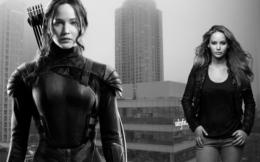 Katniss And Jennifer Giantesses rule by darthbriboy