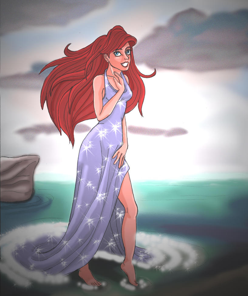 Ariel from 'The Little Mermaid by LaNobileArte