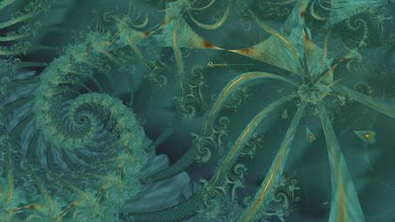 AQuamarine Fractal by Pantoja