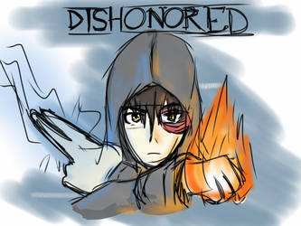 Dishonored (Final Sketch)