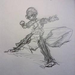 Toph Beifong Sketch