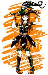 Pumpkin Girl by YukikoSama