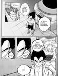 Dbz: Bulma and Vegeta -Firstkiss: Chapter 1, Pg2