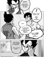 Dbz: Bulma and Vegeta - Firstkiss: Chapter 1, Pg5 by longlovevegeta