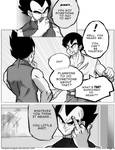 Dbz: Bulma and Vegeta - Firstkiss: Chapter 1, Pg5