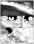 Dbz: Bulma and Vegeta - Firstkiss: Chapter 2, Pg9