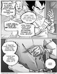 Dbz: Bulma and Vegeta - Firstkiss: Chapter 3, Pg2