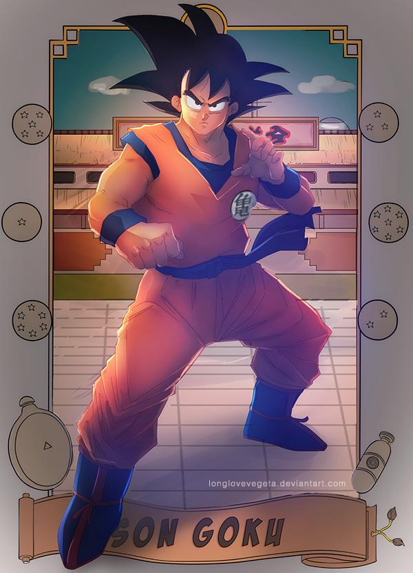 DBZ: Son Goku by longlovevegeta