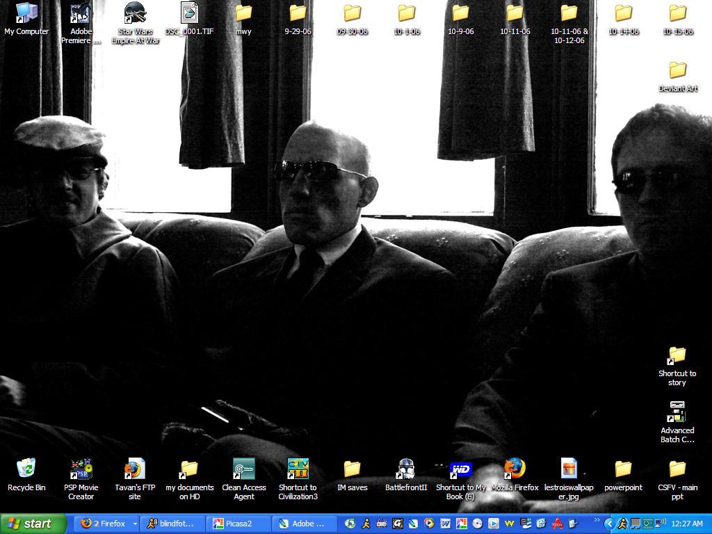 'NOIR: Les Trois' Desktop Shot by barnavkristus