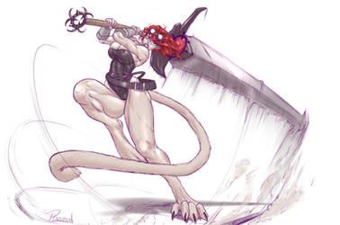Raven Beartrap sketch commission