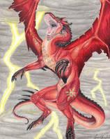 chaos dragon by Xunau66