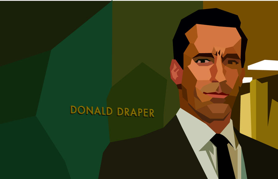 Don Draper Experiment by montgomeryq