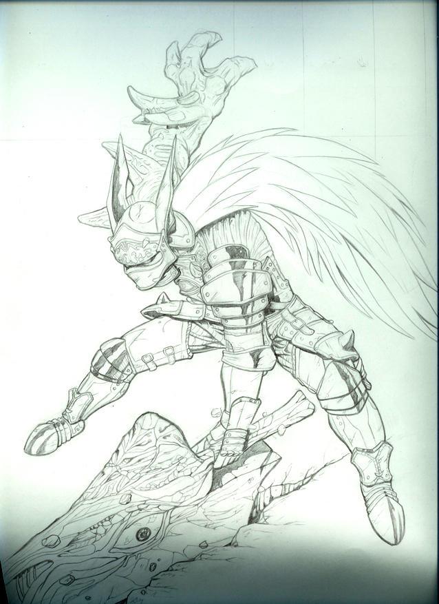 Nightmare anime by randalldaigle