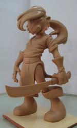 Silvermain Sculpt by JDCalderon