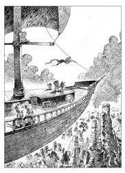 Oswald on a voyage :D by JDCalderon