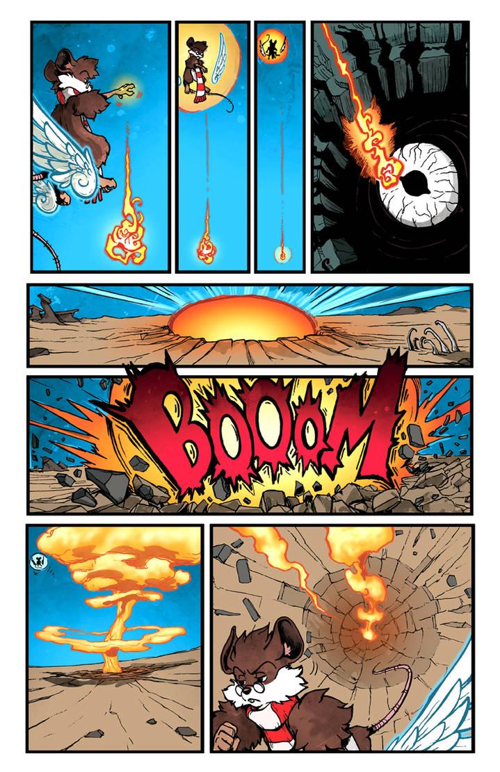 Oswald goes BOOM BOOM :D by JDCalderon