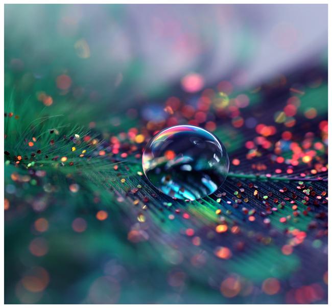 Glitter Rain by Serend1pity