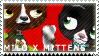 Milo x Mittens Stamp by indigosith