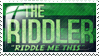 Riddler Stamp 1 by indigosith