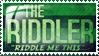 Riddler Stamp 1 by runecoon