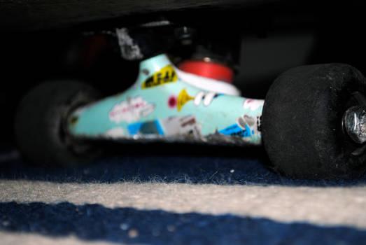 Skateboard .