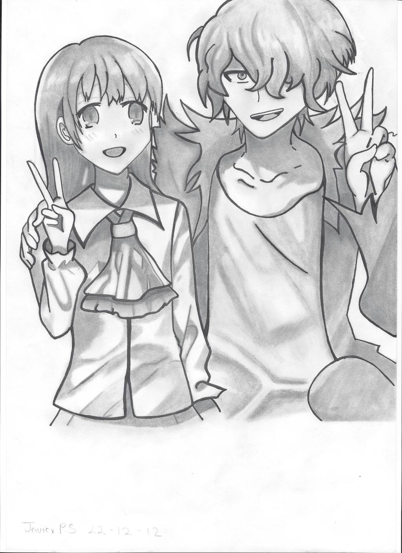 IB and Garry by Javiyoshi