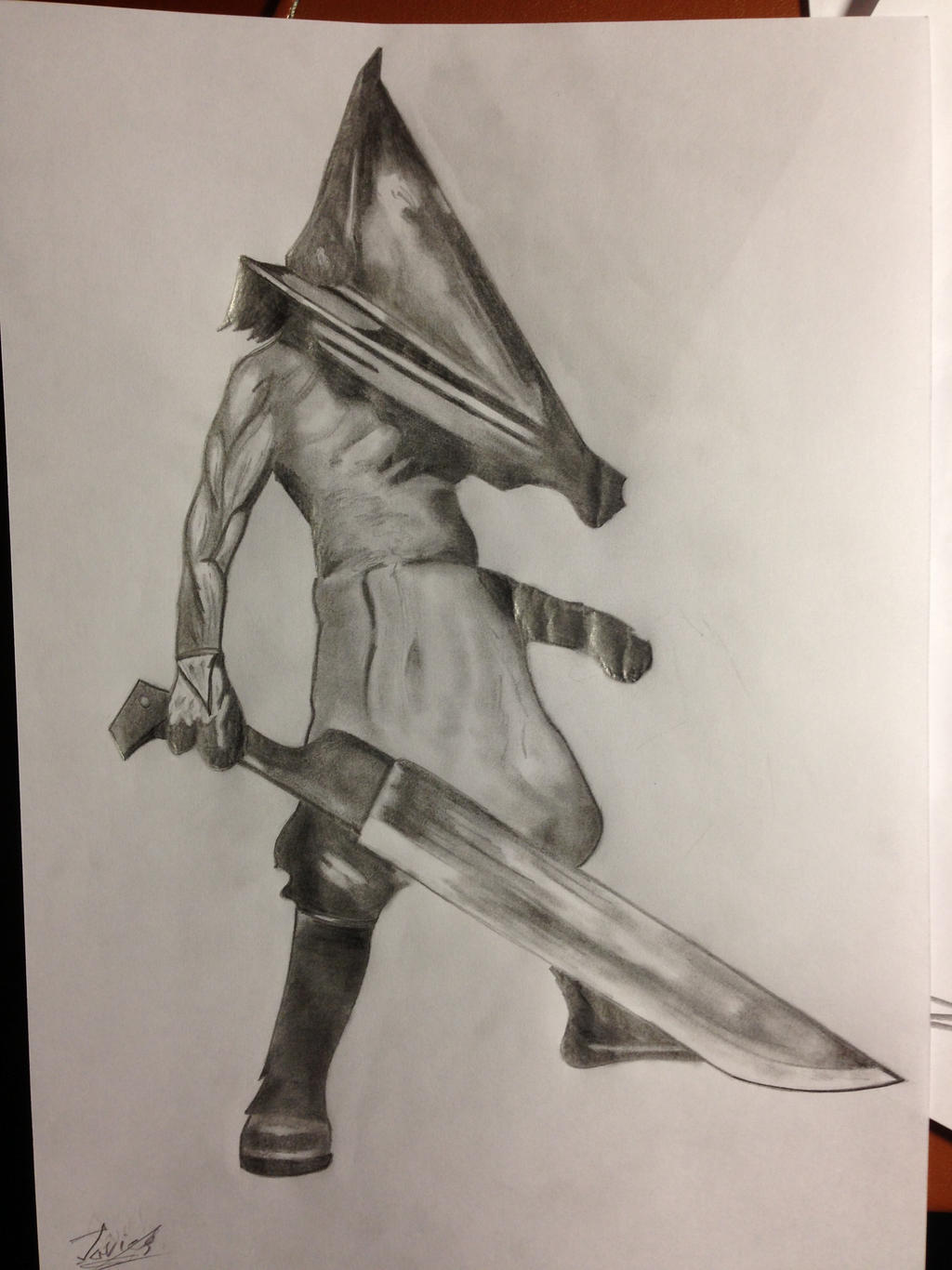Pyramid Head by Javiyoshi