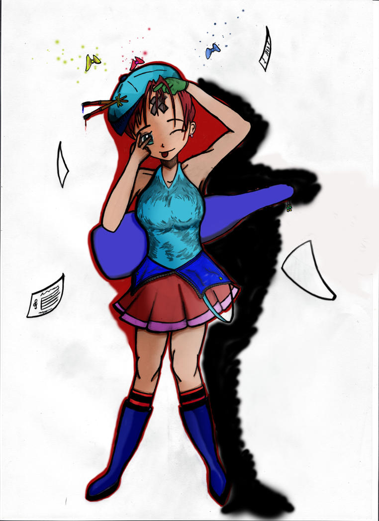 Akisha Yaoto (nombre y personaje ficticio) by Javiyoshi