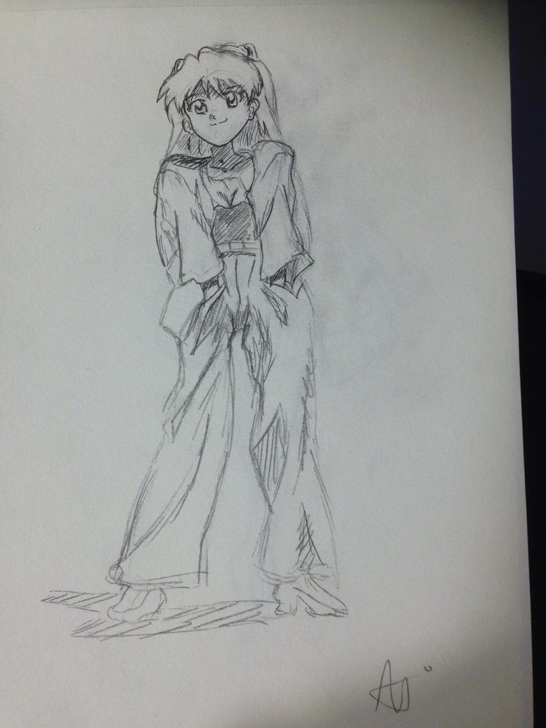 Asuka (from evangelion) by Javiyoshi