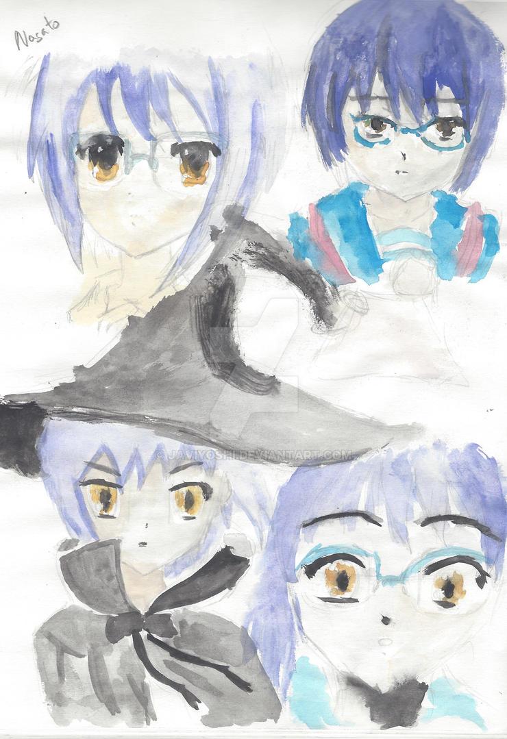 Nagato Watercolor by Javiyoshi