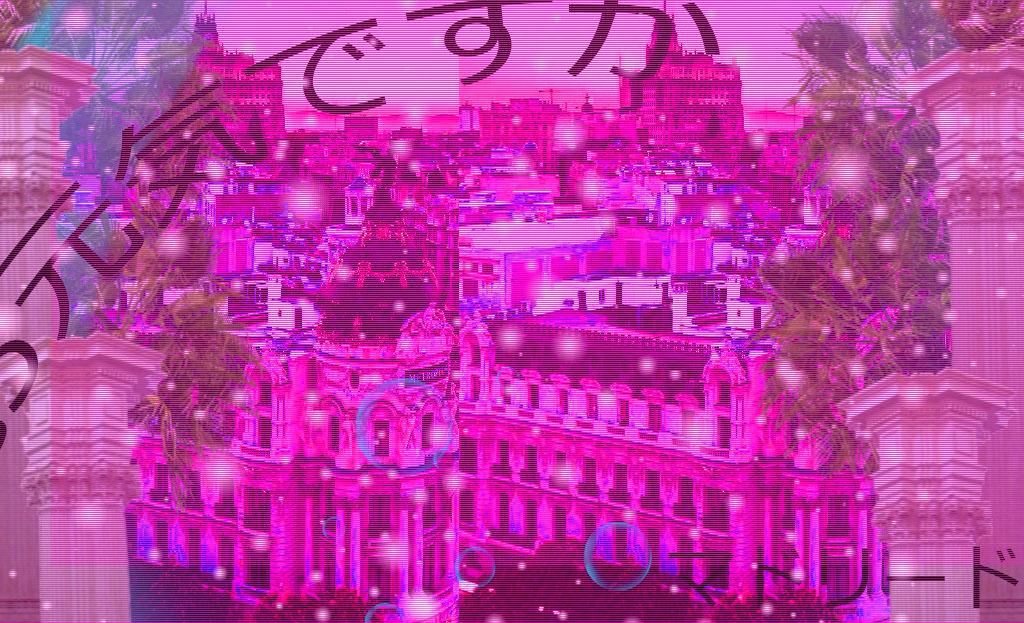 Madrid-vaporwave by Javiyoshi