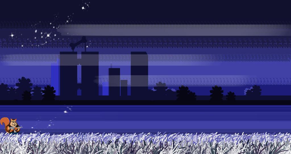 PixelArt Scenario - Videogame by Javiyoshi