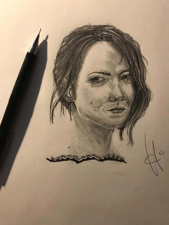 Emma Stone by Javiyoshi