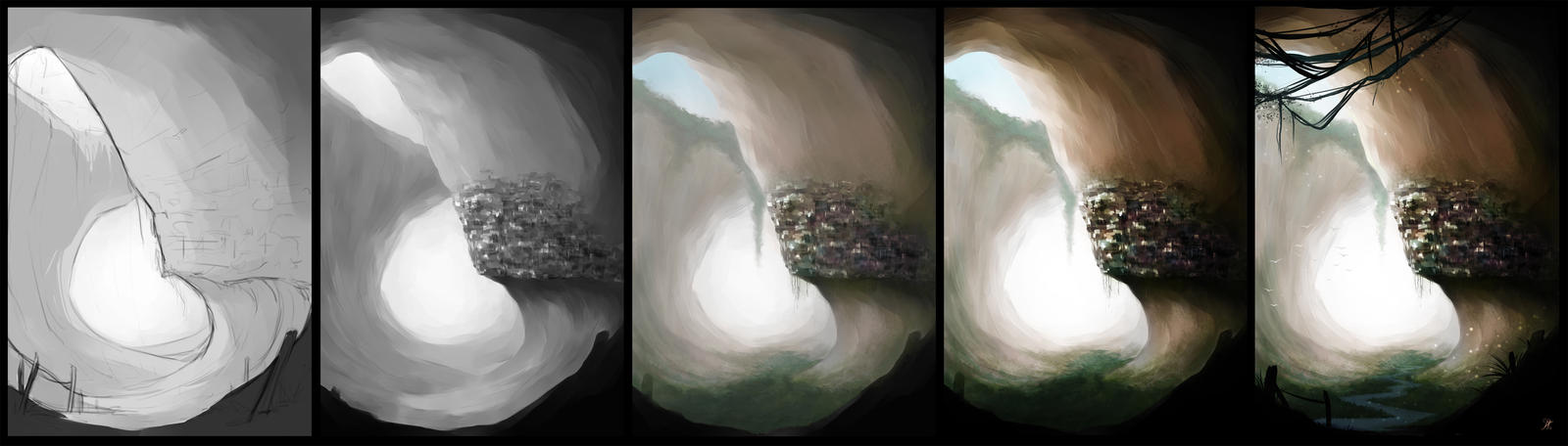 Process city cave by lSagol