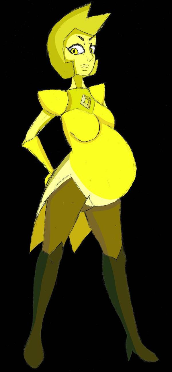 Birthstone Monthly Series: Yellow Diamond by mo-la-in-tumtum