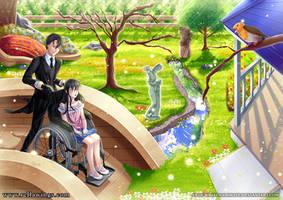 COMMISSION - Madoka and Kozuke by WhiteNamikaze