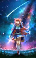 COMMISSION - Falling Star (KICKSTARER CAMPAIGN) by WhiteNamikaze