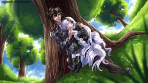 COMMISSION - Kazuya and Victoria by WhiteNamikaze